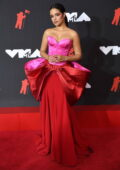 Camila Cabello attends the 2021 MTV Video Music Awards at Barclays Center in Brooklyn, New York City