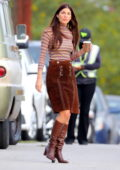 Camila Morrone spotted on the set of TV Series 'Daisy Jones & The Six' in Los Angeles