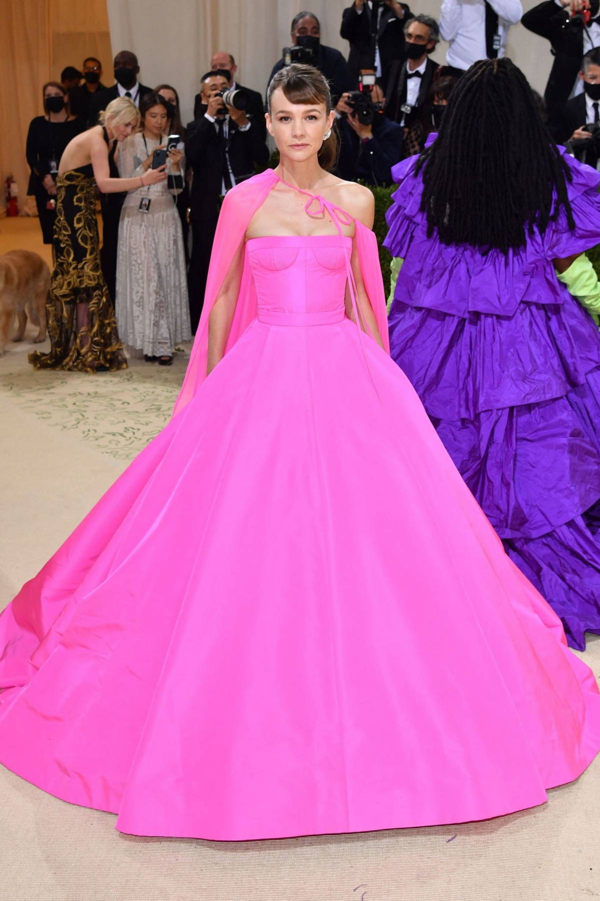 Carey Mulligan attends The Met Gala Celebrating In America: A Lexicon Of Fashion at Metropolitan Museum of Art in New York City