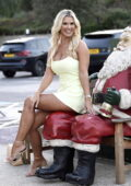 Christine McGuinness attends the Housing Units Autumn Showcase, Christmas Preview in Manchester, UK