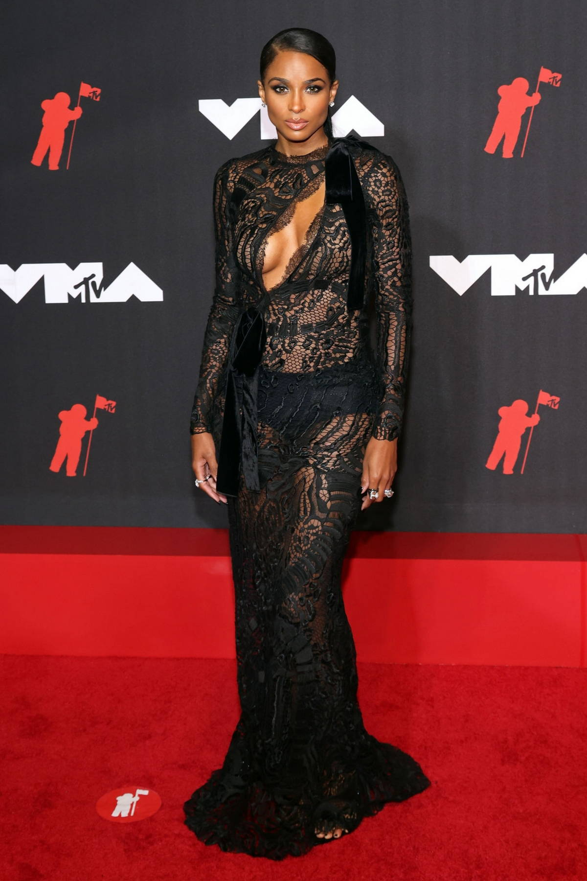 Ciara attends the 2021 MTV Video Music Awards at Barclays Center in Brooklyn, New York City