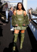 Ciara attends the Dundas x Revolve fashion show during New York Fashion Week in New York City
