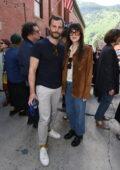 Dakota Johnson and Jamie Dornan attend the 2021 Telluride Film Festival in Telluride, Colorado