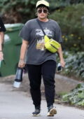Demi Lovato goes out for a long two-hour hike with a bodyguard and a friend in Los Angeles