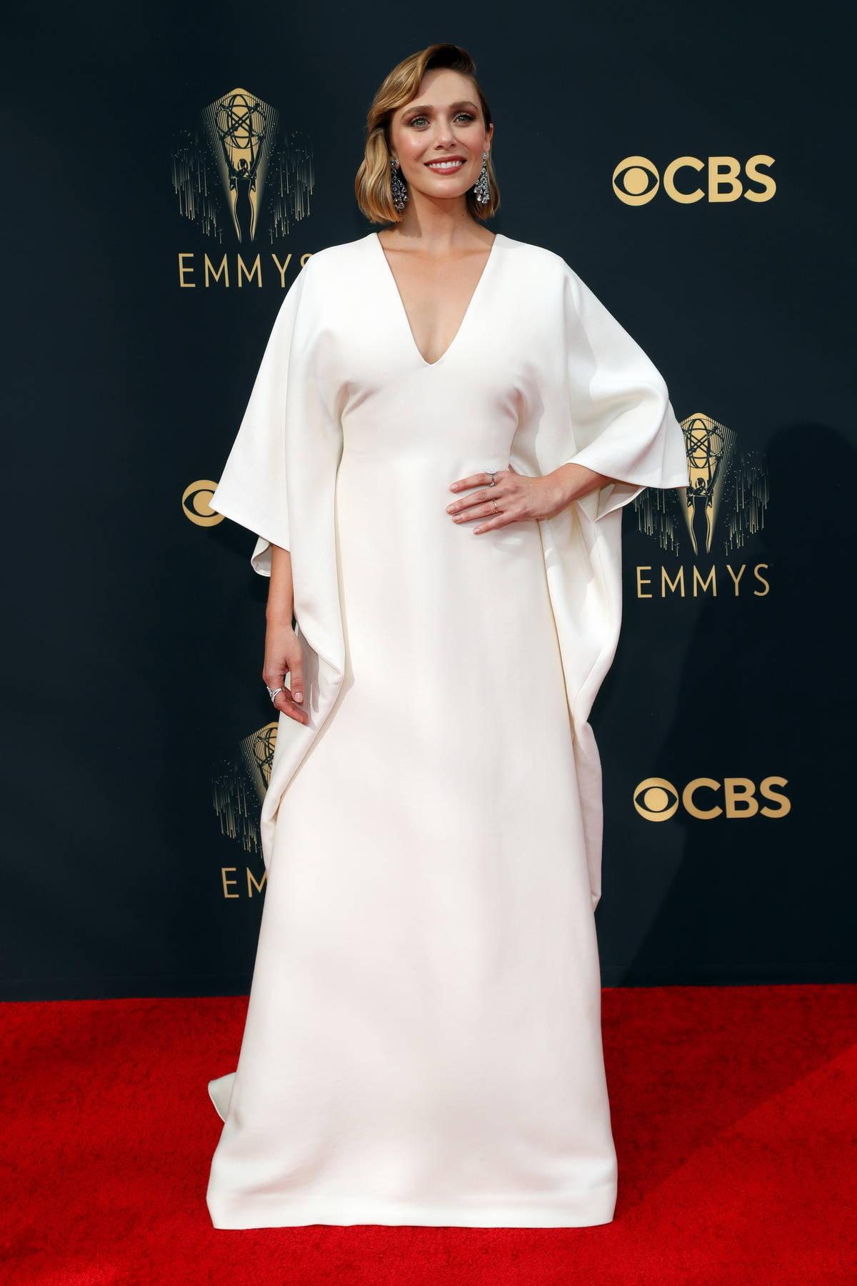 Elizabeth Olsen attends the 73rd Primetime Emmy Awards at L.A. Live in Los Angeles