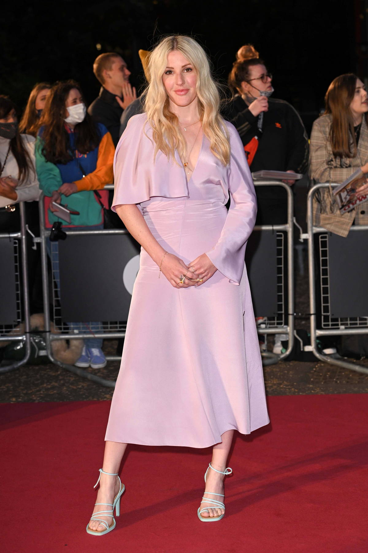 Ellie Goulding attends the GQ Men Of The Year Awards 2021 at the Tate Modern in London, UK