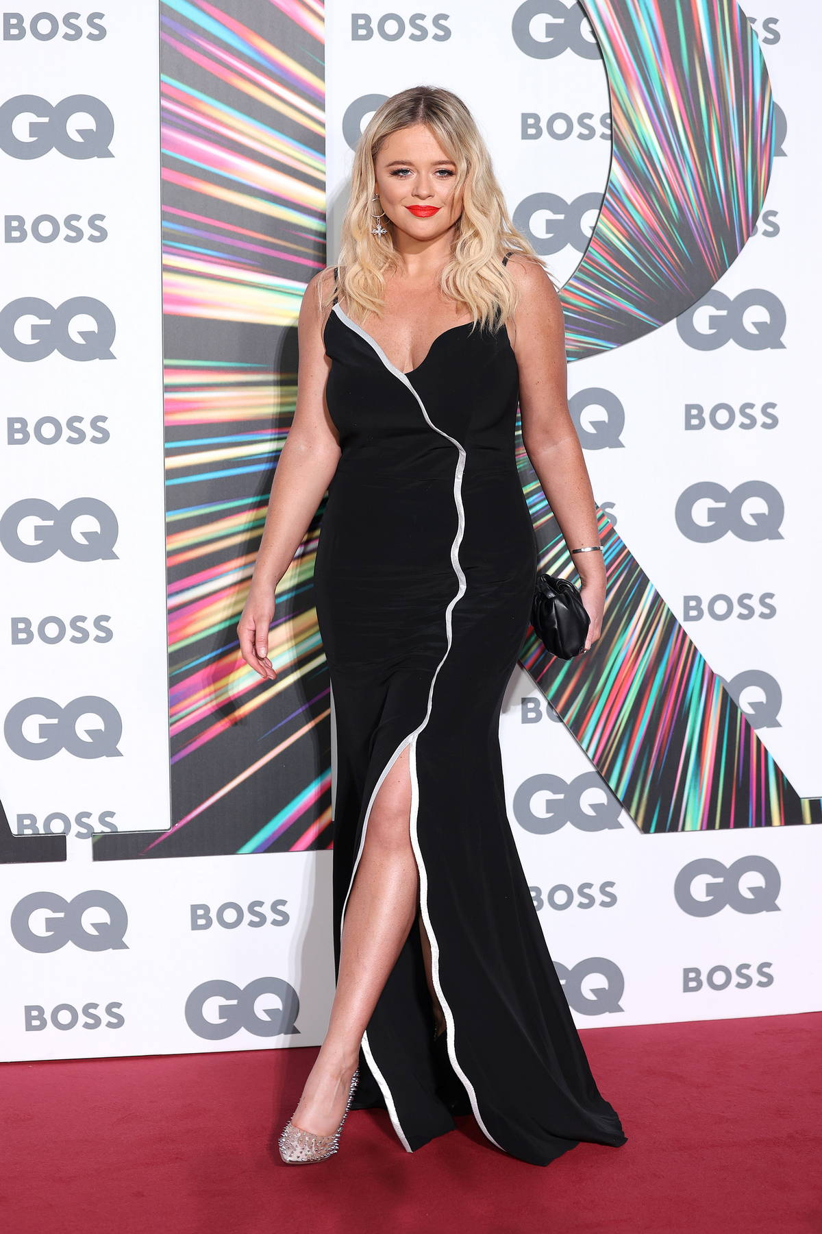 Emily Atack attends the GQ Men Of The Year Awards 2021 at the Tate Modern in London, UK