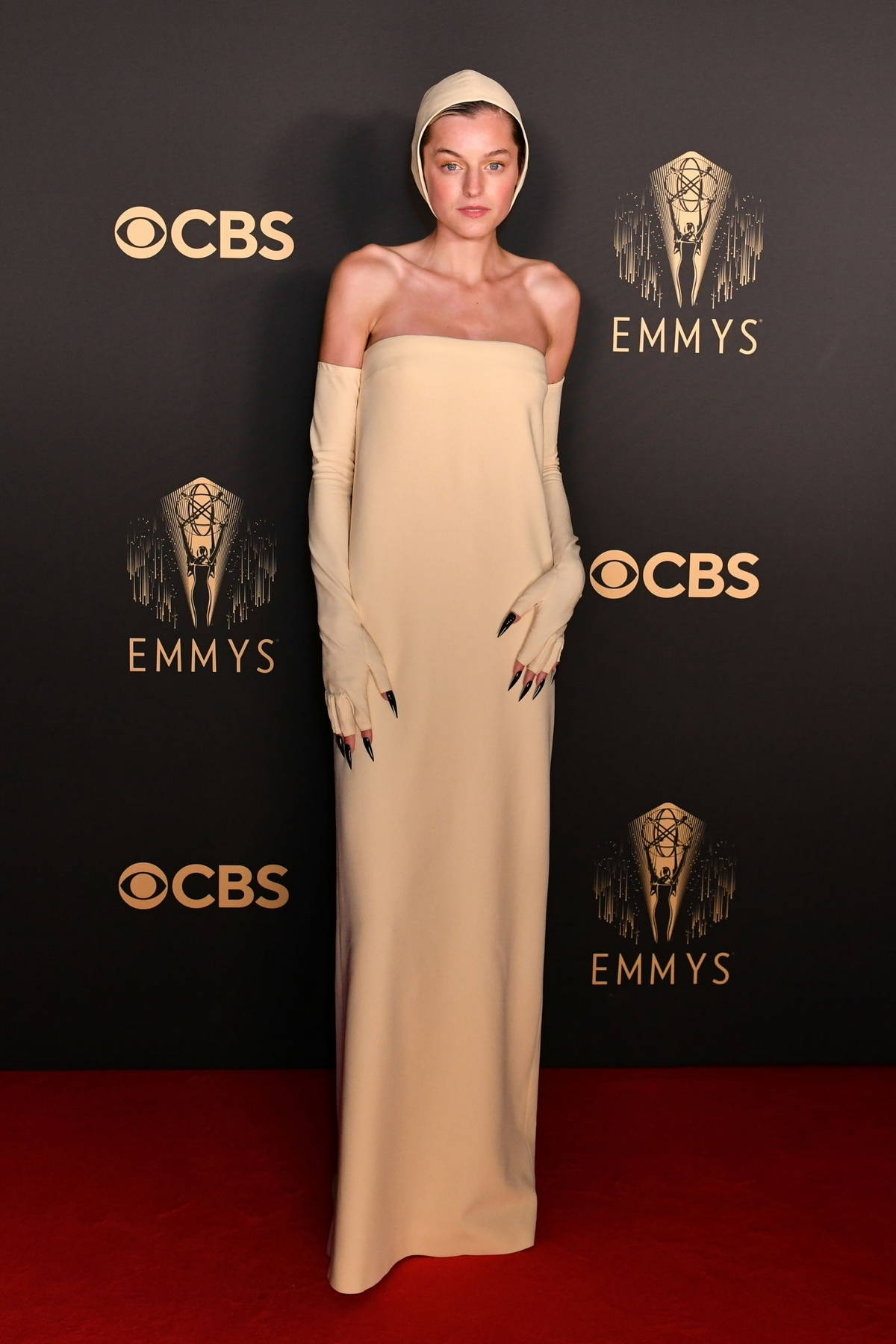 Emma Corrin attends 'The Crown' 73rd Primetime Emmys Celebration at Soho House in London, UK