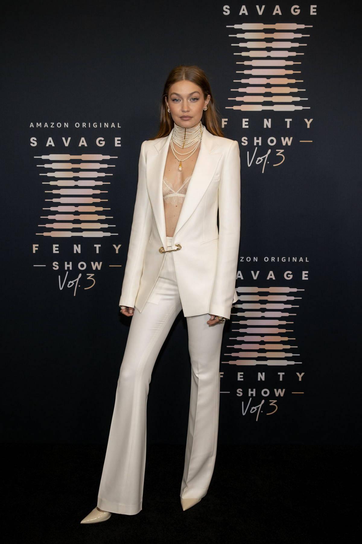 Gigi Hadid attends the Savage x Fenty Show Vol 3 in Los Angeles
