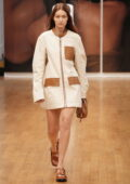 Gigi Hadid walks the runway for Tod's SS22 fashion show in Milan during Milan Fashion Week in Milan, Italy