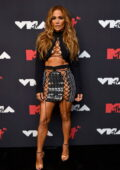 Jennifer Lopez attends the 2021 MTV Video Music Awards at Barclays Center in Brooklyn, New York City