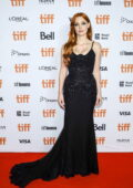 Jessica Chastain attends the Premiere of 'The Forgiven' during the 2021 Toronto International Film Festival in Toronto, Canada
