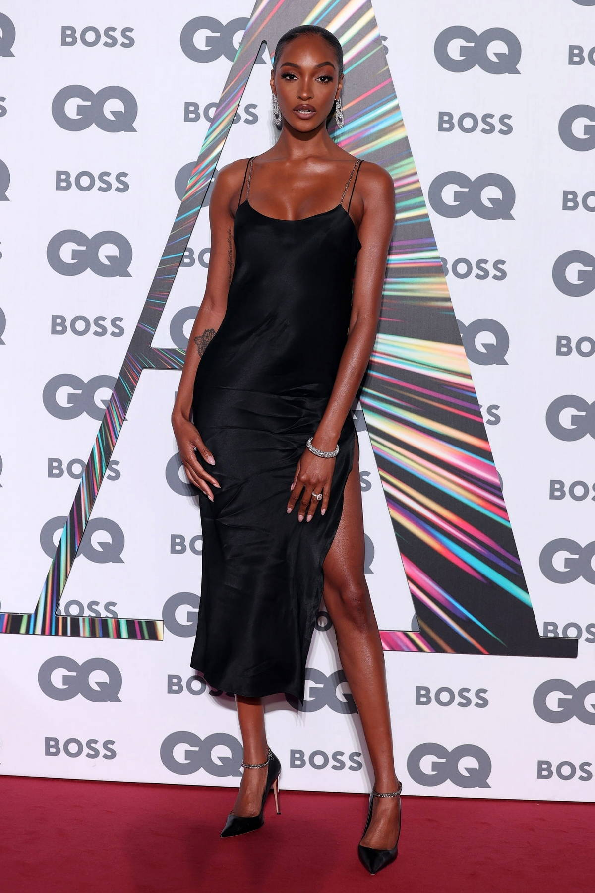 Jourdan Dunn attends the GQ Men Of The Year Awards 2021 at the Tate Modern in London, UK