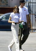 Kaia Gerber steps out to celebrate her 20th birthday at a non-profit event with Jacob Elordi in Los Angeles
