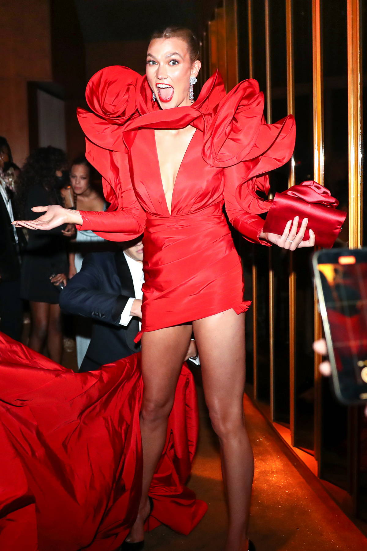 Karlie Kloss attends the Boom Boom Met Gala after-party in New York City