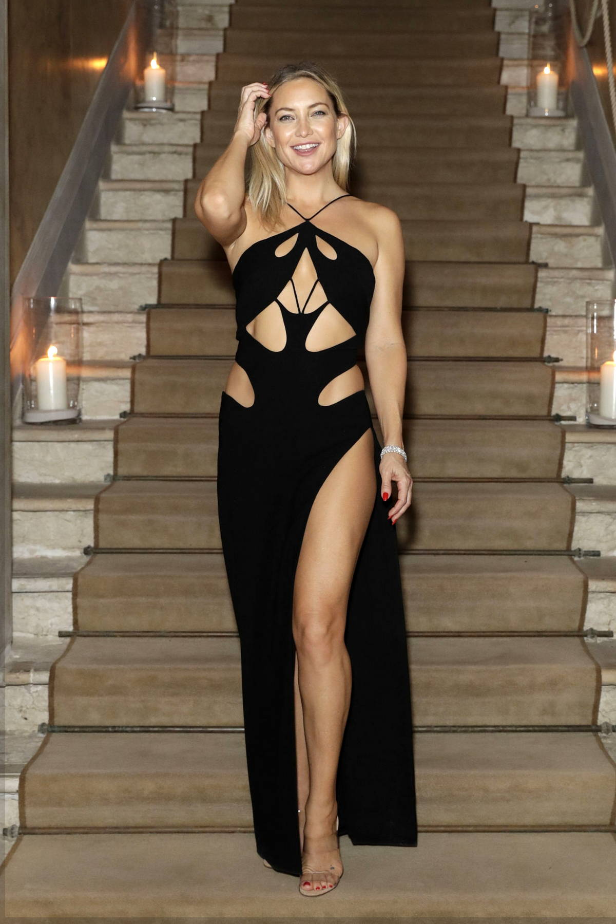 Kate Hudson attends the Celebration of Women in Cinema Gala during the 78th Venice Film Festival in Venice, Italy