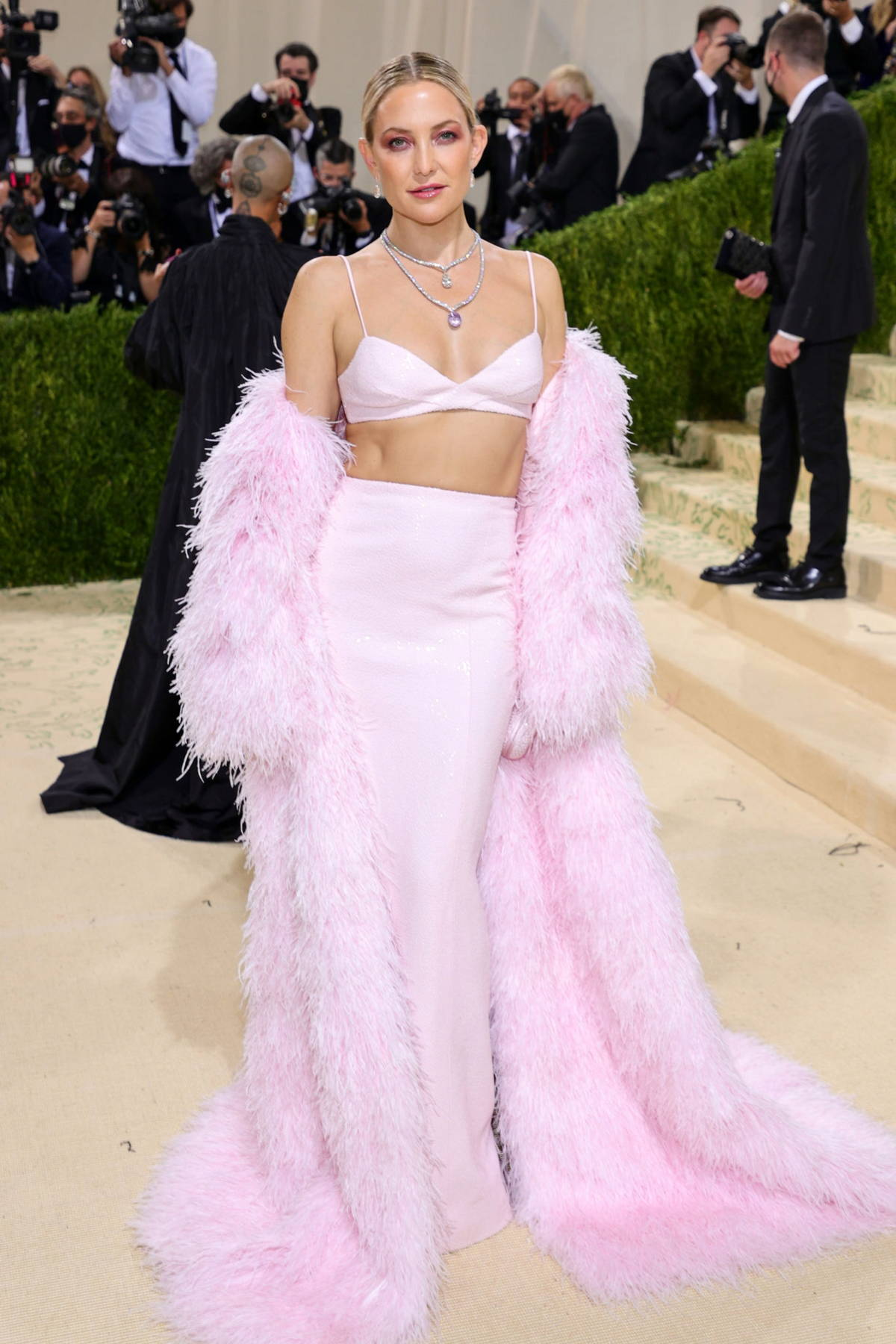 Kate Hudson attends The Met Gala Celebrating In America: A Lexicon Of Fashion at Metropolitan Museum of Art in New York City