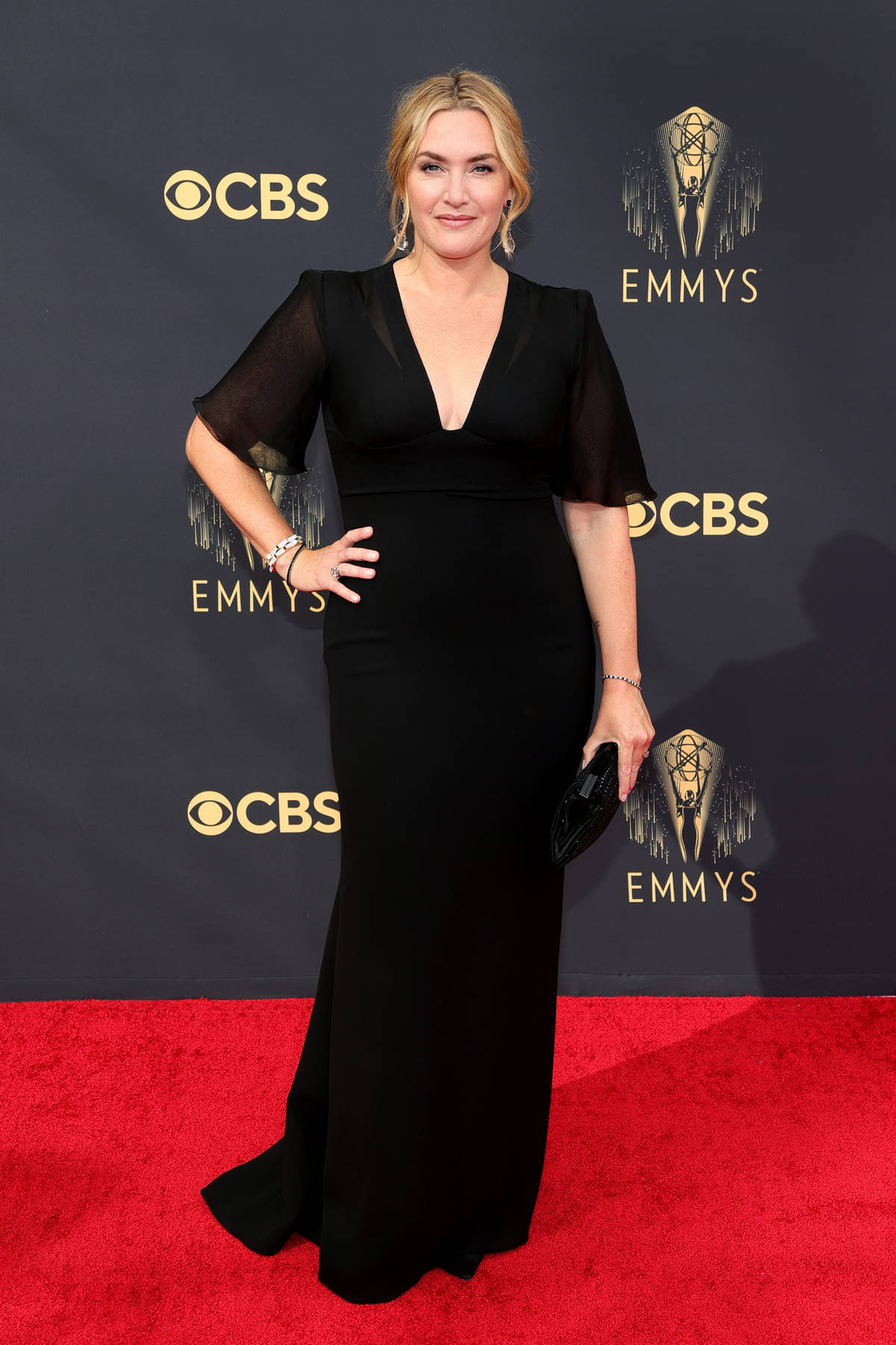 Kate Winslet attends attends the 73rd Primetime Emmy Awards at L.A. Live in Los Angeles