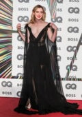 Kathryn Newton attends the GQ Men Of The Year Awards 2021 at the Tate Modern in London, UK