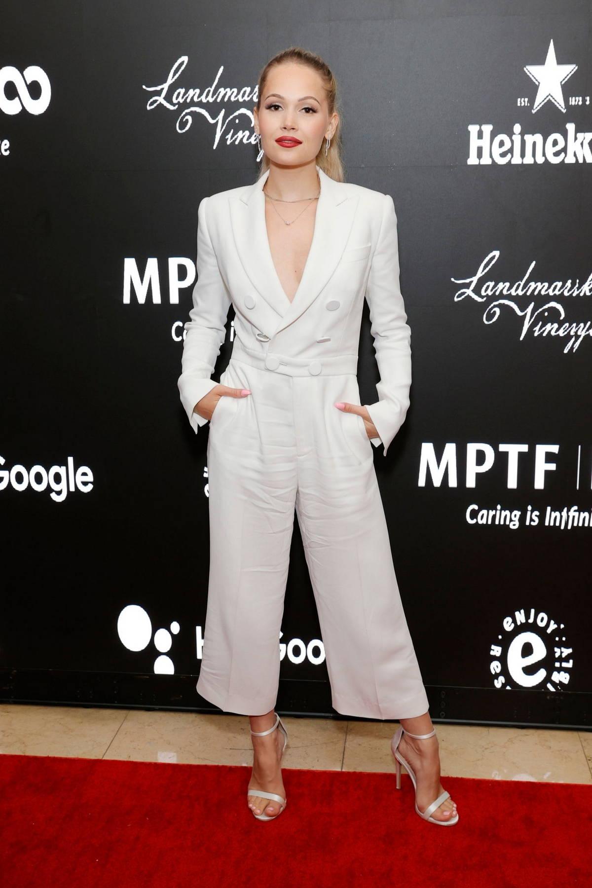 Kelli Berglund attends MPTF NextGen Board hosts 2021 Summer Part at Sunset Tower Hotel in Los Angeles
