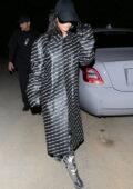 Kim Kardashian rocks Balmain ensemble while out filming her new Hulu show in Hollywood, California
