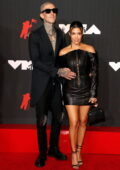 Kourtney Kardashian attends the 2021 MTV Video Music Awards at Barclays Center in Brooklyn, New York City