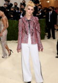 Kristen Stewart attends The Met Gala Celebrating In America: A Lexicon Of Fashion at Metropolitan Museum of Art in New York City