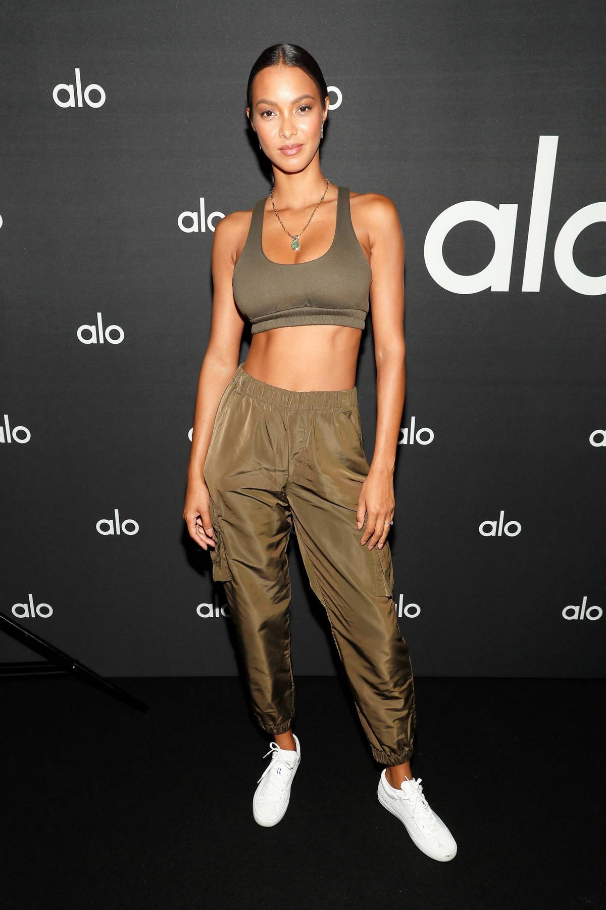 Lais Ribeiro attends the Alo Wellness Department Dinner in New York City