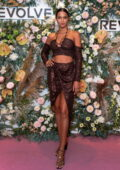 Lais Ribeiro attends the Revolve Gallery inaugural event during New York Fashion Week at Hudson Yards in New York City