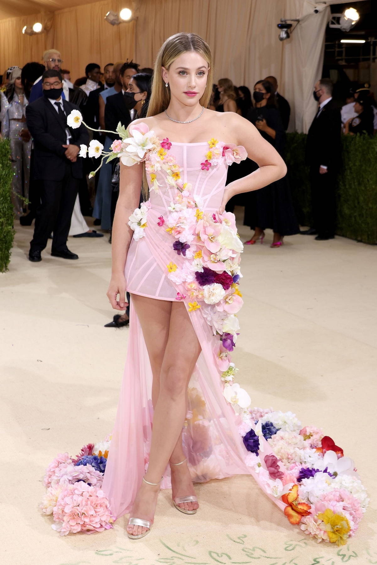 Lili Reinhart attends The Met Gala Celebrating In America: A Lexicon Of Fashion at Metropolitan Museum of Art in New York City