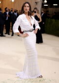 Lily Aldridge attends The Met Gala Celebrating In America: A Lexicon Of Fashion at Metropolitan Museum of Art in New York City