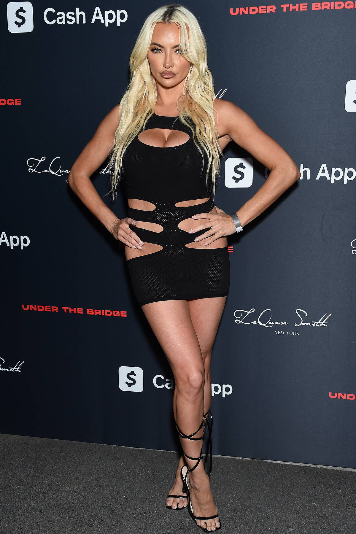 Lindsey Pelas attends LaQuan Smith's Met Gala after-party at Under The Bridge in New York City