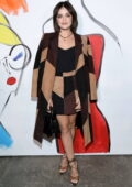 Lucy Hale attends the Alice + Olivia fashion show during New York Fashion Week in New York City