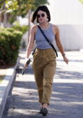 Lucy Hale looks radiant as she leaves her appointment at a skincare clinic in Studio City, California