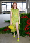 Madelaine Petsch attends the Jason Wu SS22 fashion show during New York Fashion Week in New York City