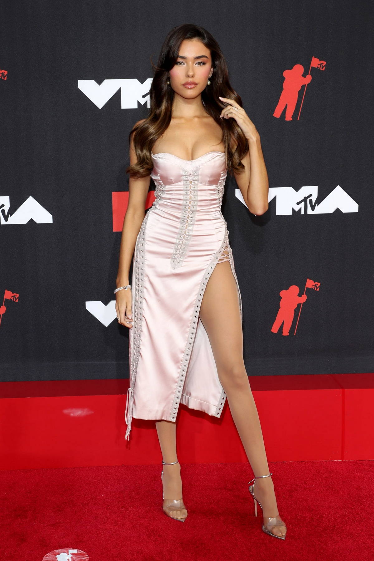Madison Beer attends the 2021 MTV Video Music Awards at Barclays Center in Brooklyn, New York City