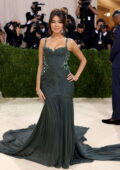 Madison Beer attends The Met Gala Celebrating In America: A Lexicon Of Fashion at Metropolitan Museum of Art in New York City