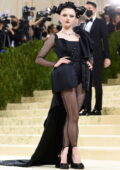 Maisie Williams attends The Met Gala Celebrating In America: A Lexicon Of Fashion at Metropolitan Museum of Art in New York City