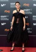 Marion Cotillard attends the Opening Gala of the 69th San Sebastian International Film Festival at the Kursaal in San Sebastian, Spain