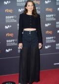 Marion Cotillard attends the Premiere of 'Bigger Than Us' during the 69th San Sebastian International Film Festival in San Sebastian, Spain