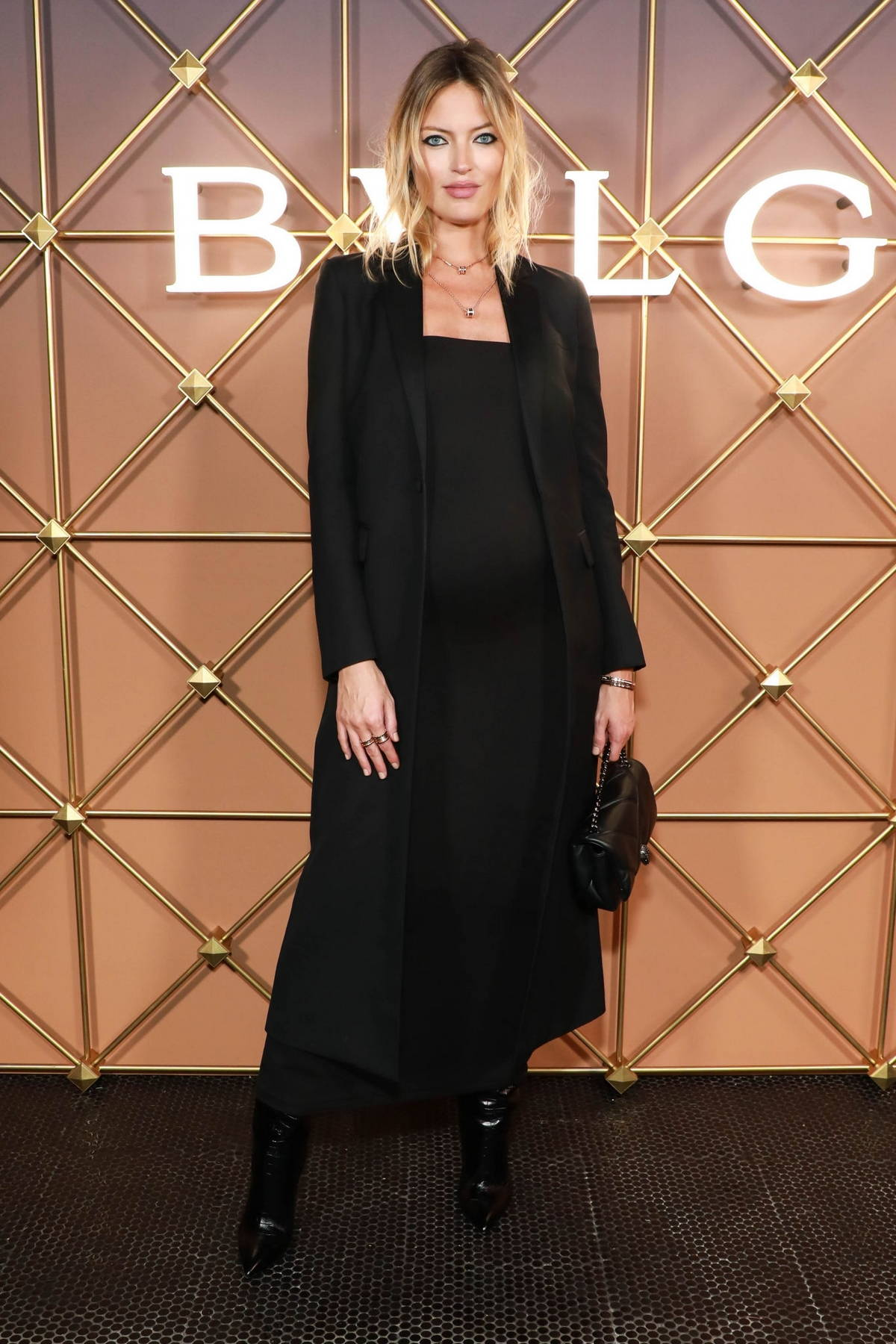 Martha Hunt attends the BVLGARI x B.zero1 Party in New York City