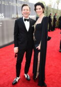 Mary Elizabeth Winstead and Ewan McGregor attends the 73rd Primetime Emmy Awards at L.A. Live in Los Angeles