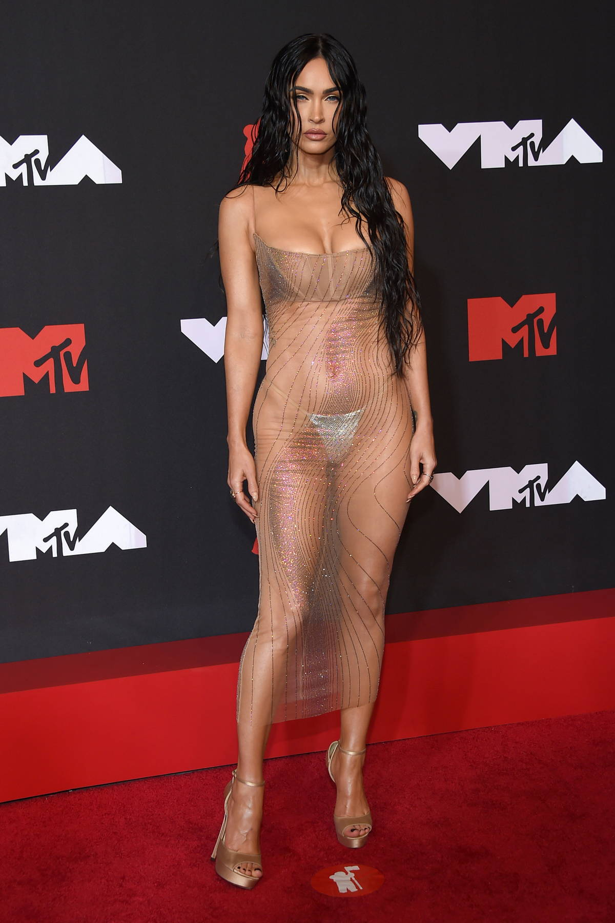 Megan Fox attends the 2021 MTV Video Music Awards at Barclays Center in Brooklyn, New York City