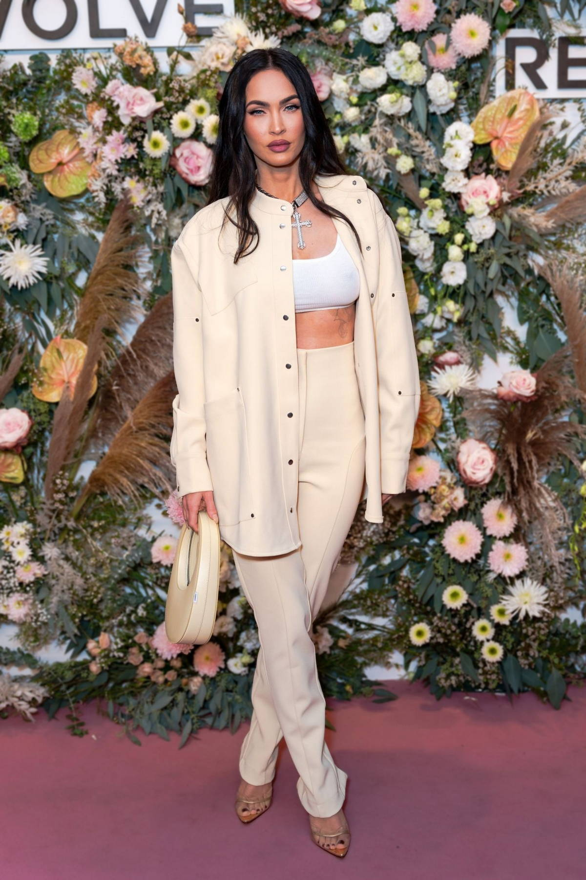Megan Fox attends the Revolve Gallery inaugural event during New York Fashion Week at Hudson Yards in New York City