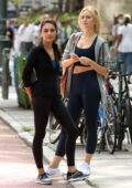 Mila Kunis and Justine Lupe spotted on the set of 'Luckiest Girl Alive' in New York City