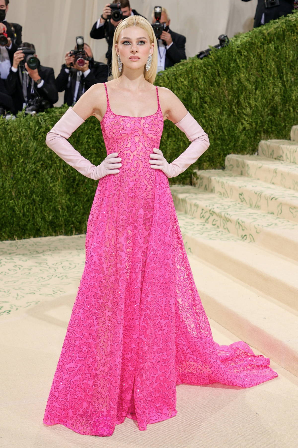 Nicola Peltz attends The Met Gala Celebrating In America: A Lexicon Of Fashion at Metropolitan Museum of Art in New York City