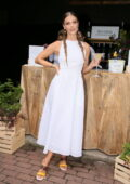 Nina Agdal attends the Belvedere Organic Infusions launch event in New York
