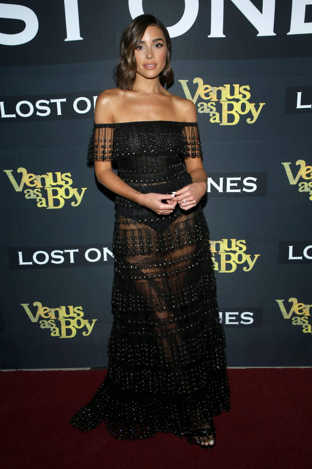 Olivia Culpo attends the Premiere of 'Venus As A Boy' at The Lombardi House in Los Angeles