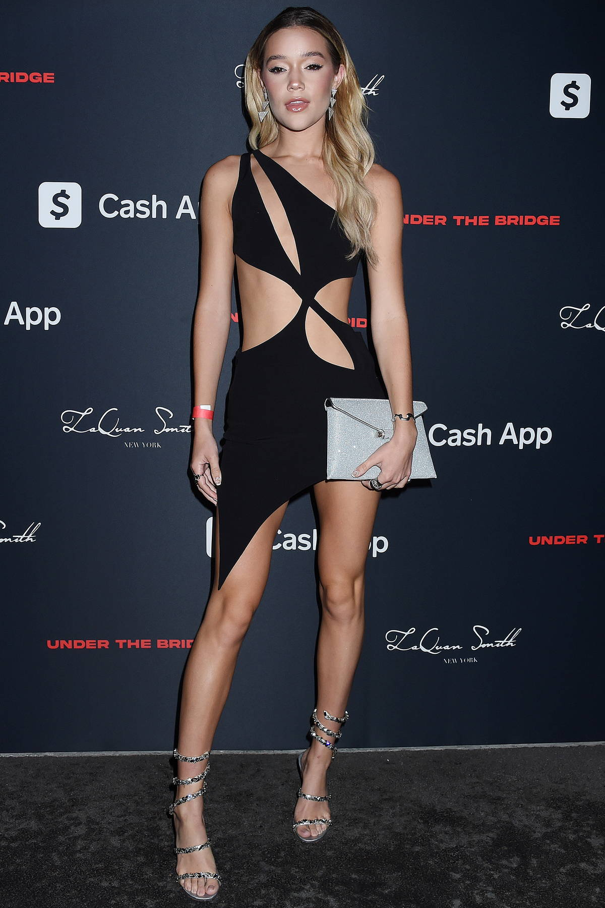 Olivia Ponton attends LaQuan Smith's Met Gala after-party at Under The Bridge in New York City