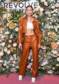 Olivia Ponton attends the Revolve Gallery inaugural event during New York Fashion Week at Hudson Yards in New York City
